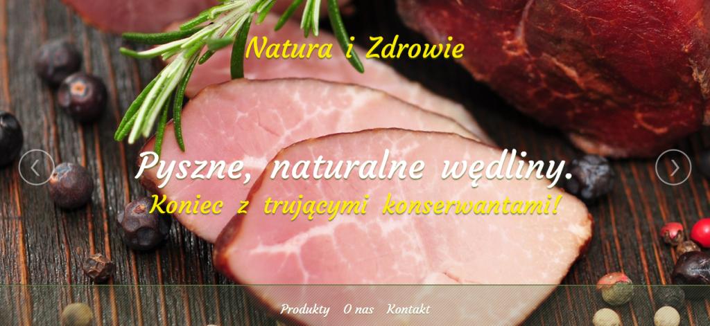 Natura i Zdrowie     Sklep z naturalnymi produktami